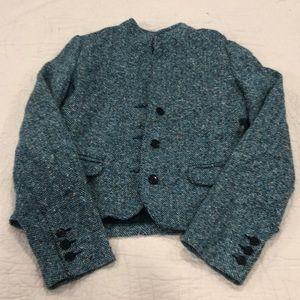 Tweed old navy blazer